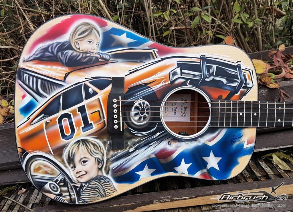 Dukes Of Hazard Guitar