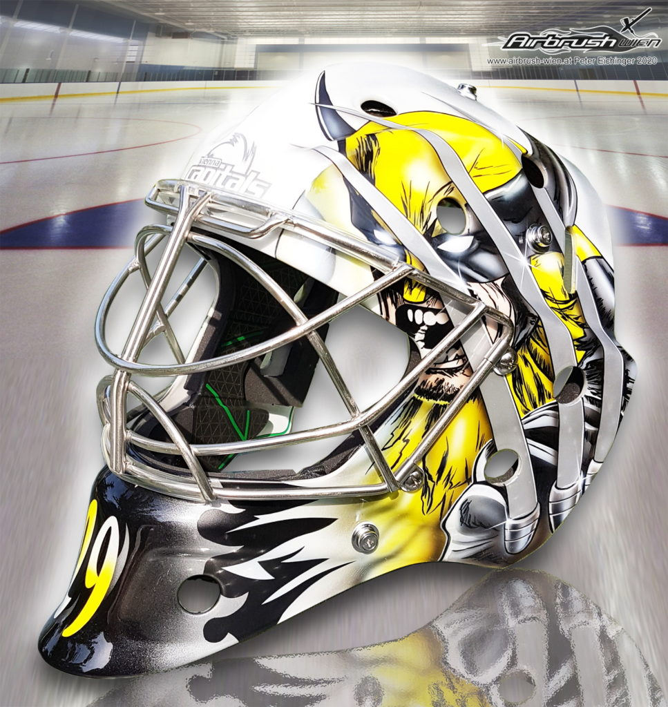Airbrush Eishockey