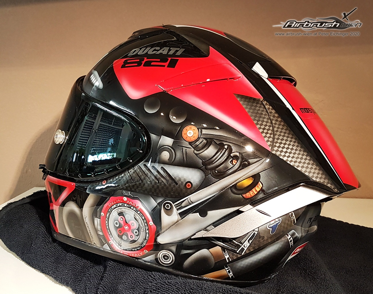 Airbrush Helme