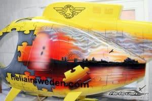 """Modellbau Helikopter """"Puzzle"""""""