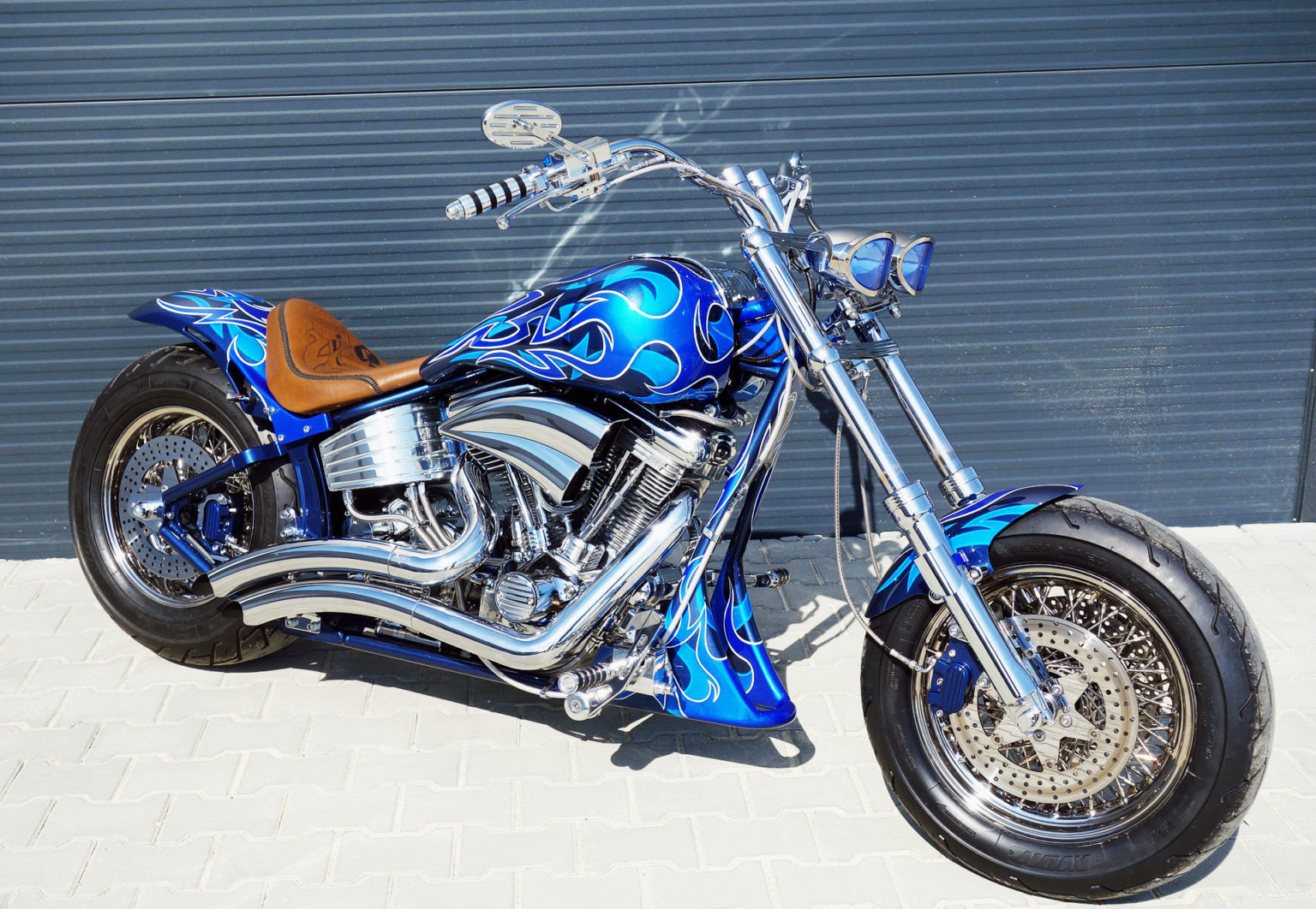 Airbrush Motorrad