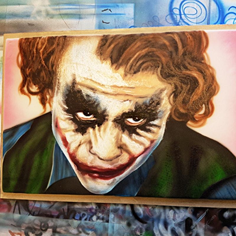 Airbrushkurs Joker