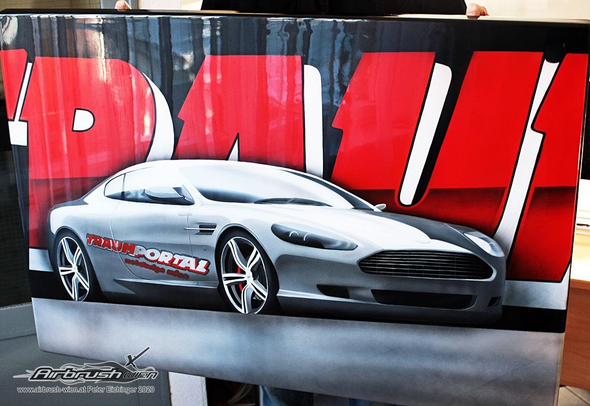 Aston Martin Airbrush