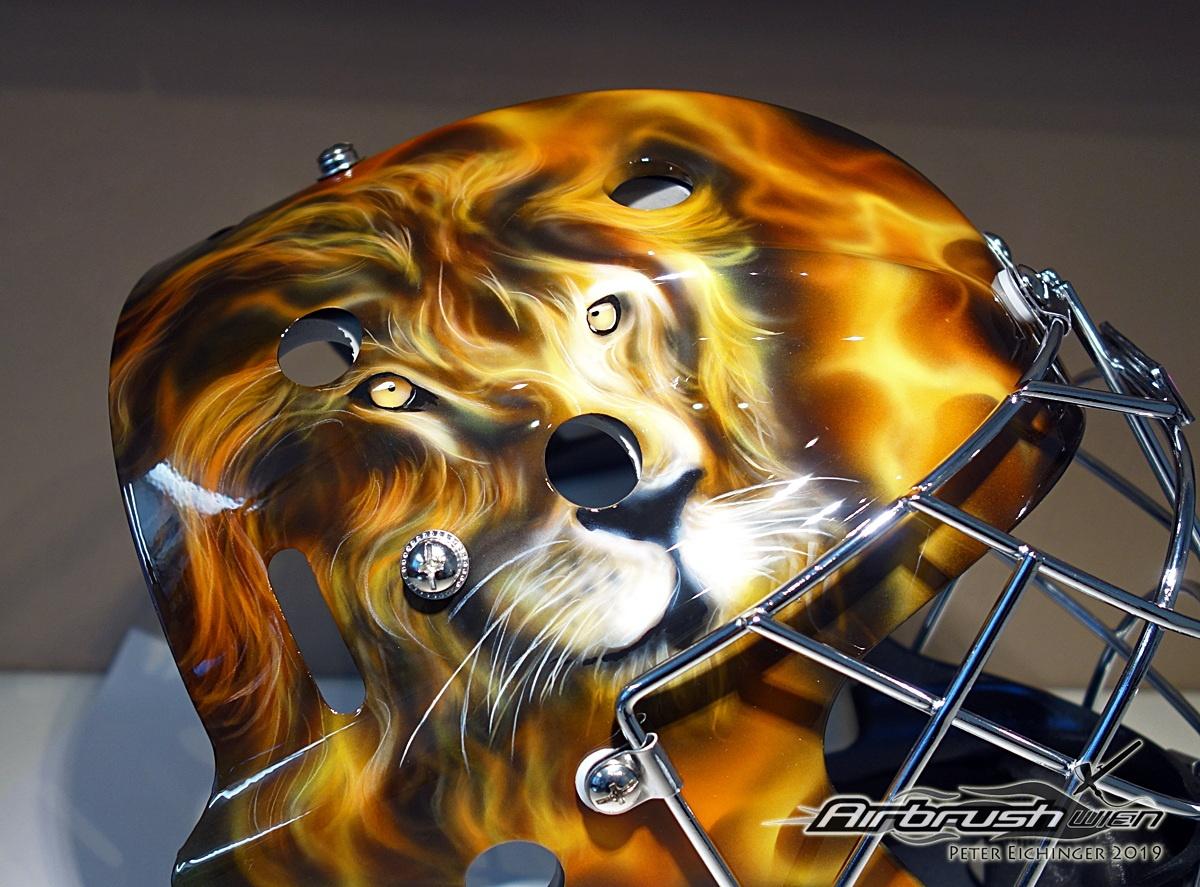Floorball Mask Lion
