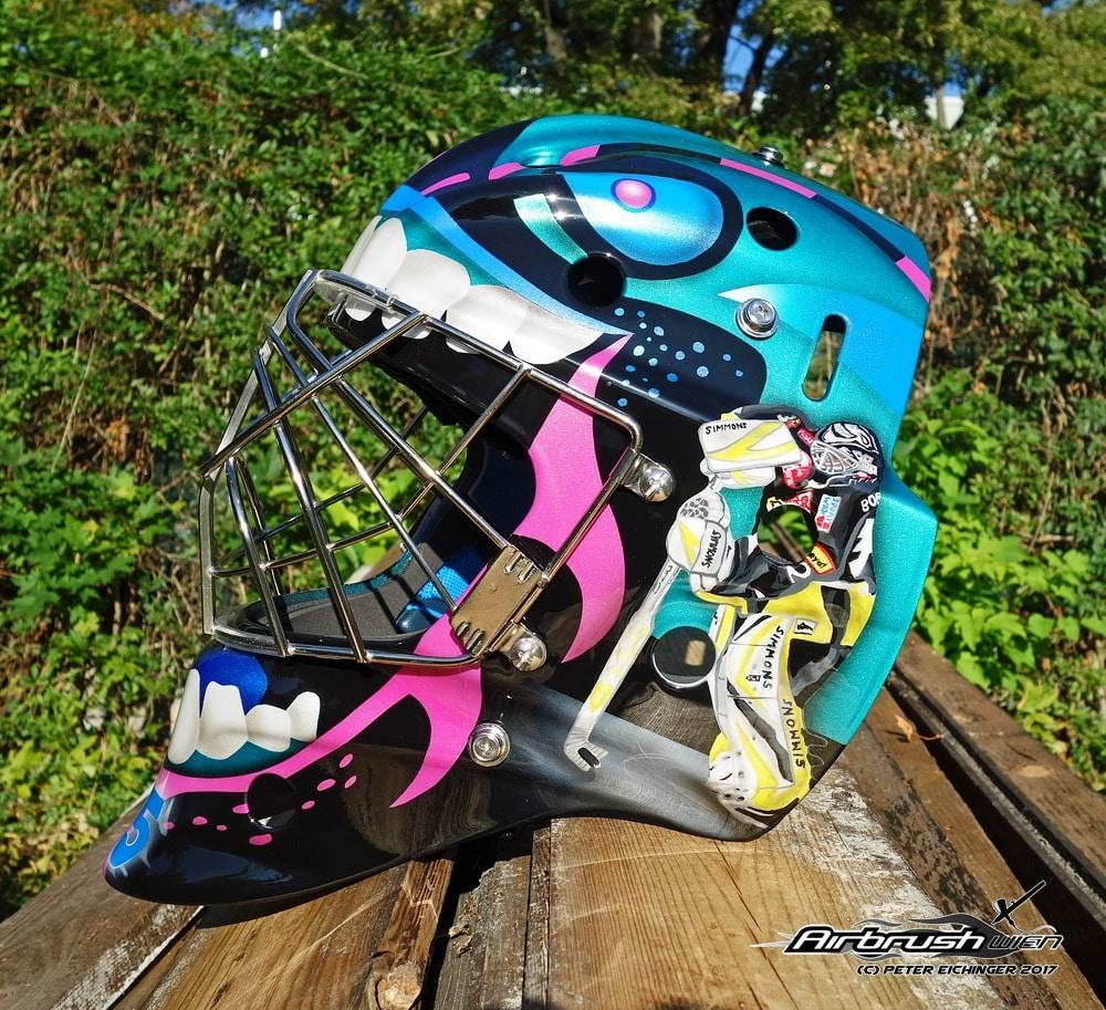 Girly Eishockeymaske