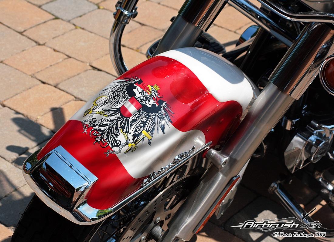Frontfender Harley Davidson