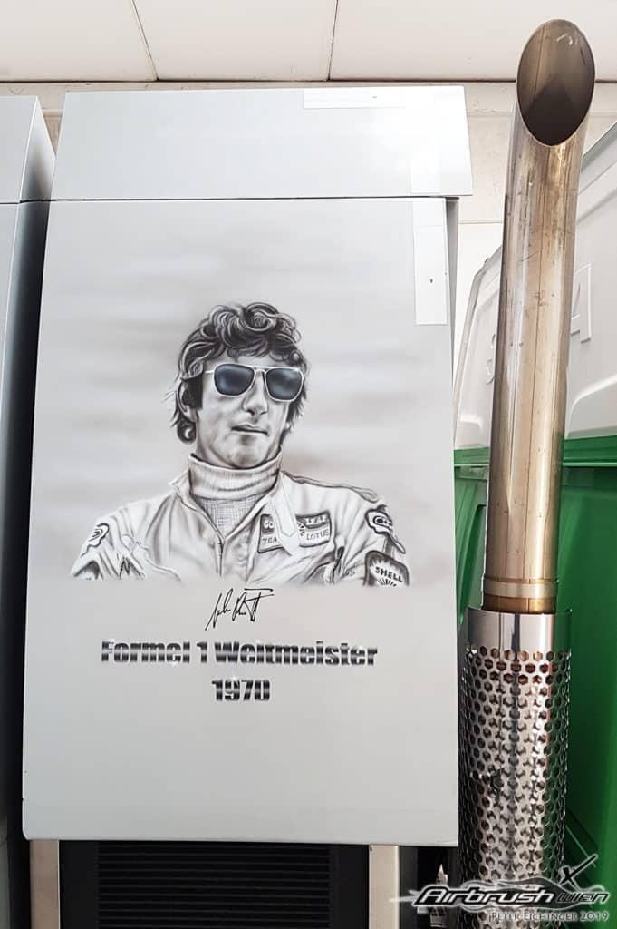 Jochen Rindt Portrait