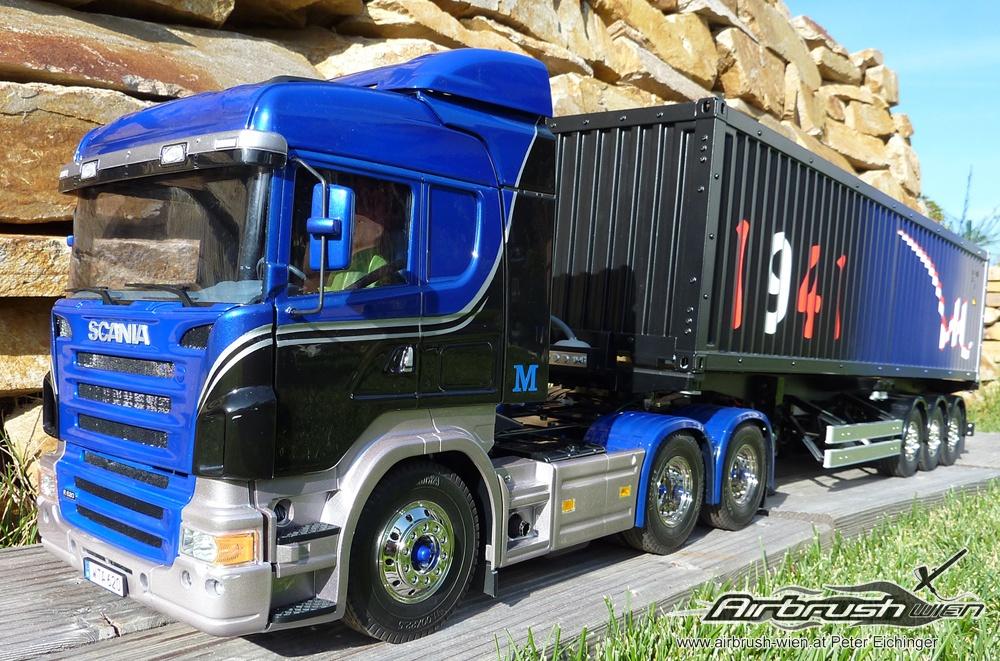 Tamiya Truck Airbrush