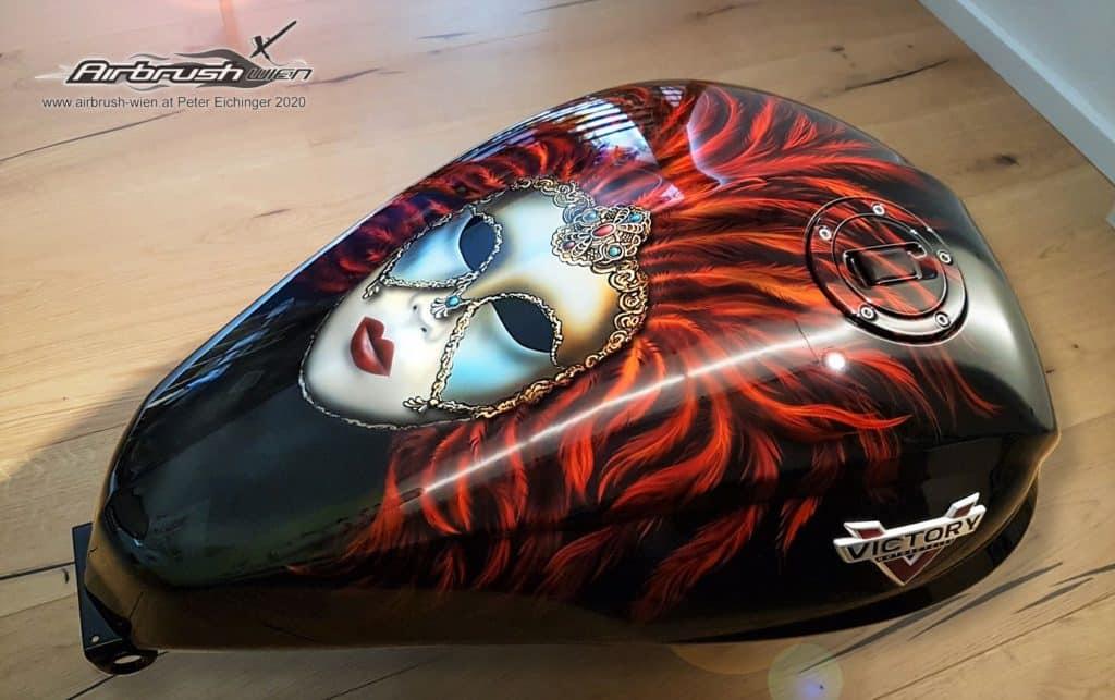 Motorradtank Venezia