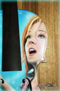 Lindsey Stirling Airbrush Portrait