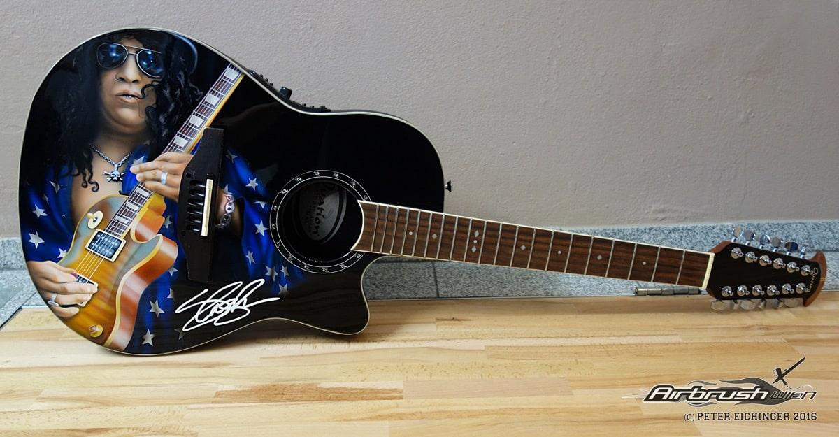 Slash Airbrush Guitar