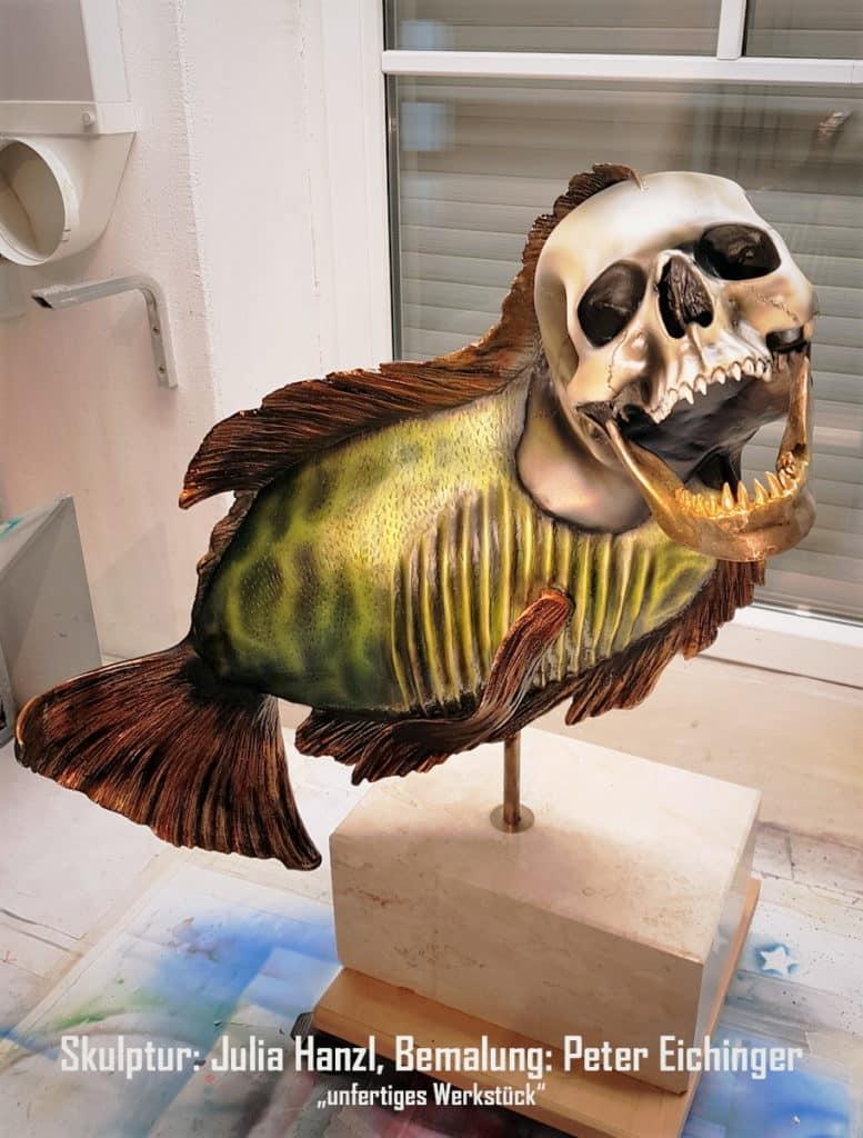 Skullfish im Atelier