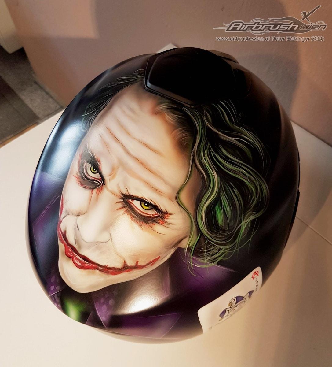 The Joker Helm