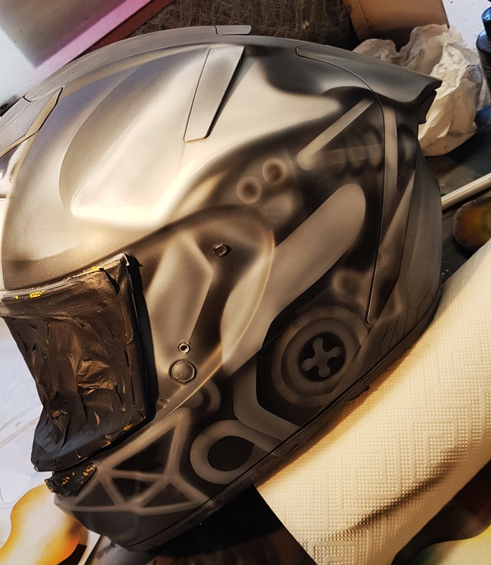 Making Of Helmetdesign