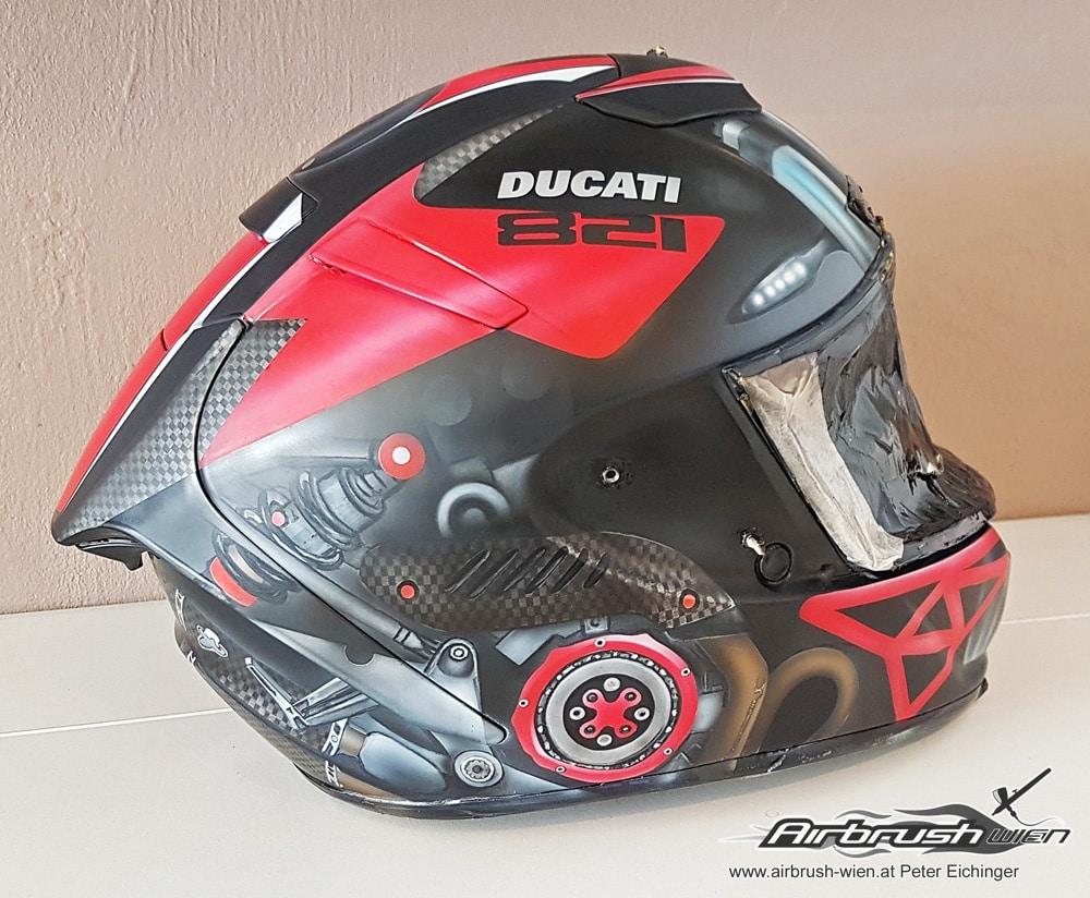 Shoei Airbrush Helm